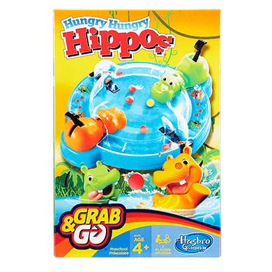 Grab & Go Games Hungry Hippo